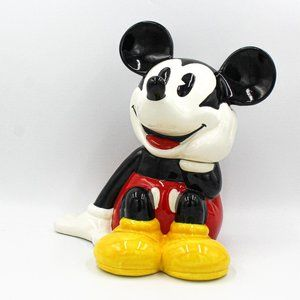 MICKEY MOUSE LARGE COOKIE JAR